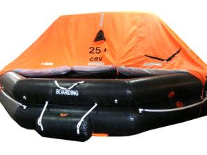 CRV SOLAS 25-person life raft